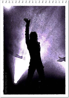 Epic MJ Silhouette Digital Art