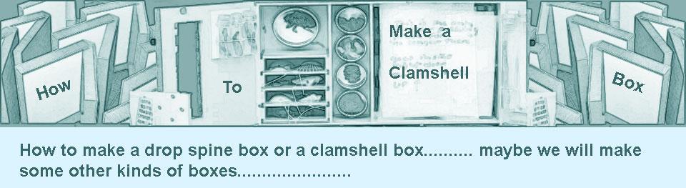 how to make a clamshell portfolio box