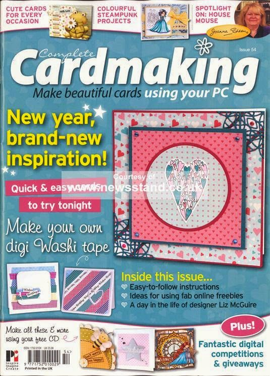 Published and Cover Artist for Complete Cardmaking Issue 54