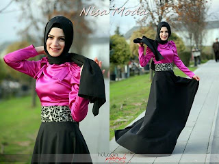 nisa moda 2014 tesett%C3%BCr Elbise modelleri71 nisamoda 2014, 2013 2014 sonbahar kış nisamoda tesettür elbise modelleri