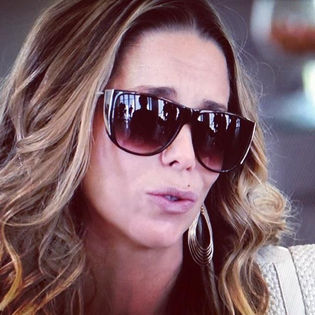 Óculos de Sol de Amarilys, Danielle Winits, na novela Amor à Vida ...