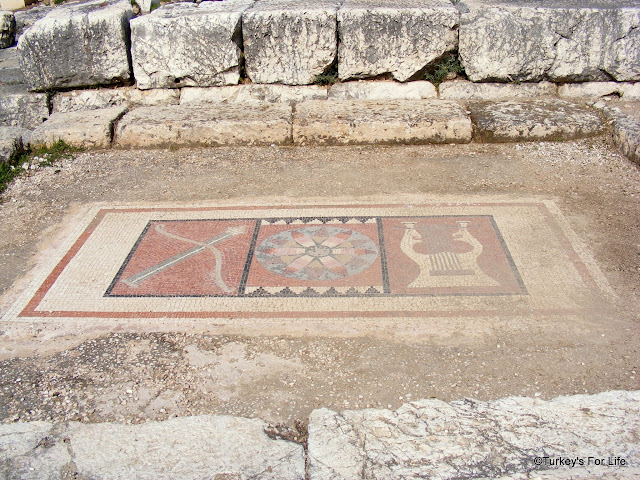 Mosaic At Letoon