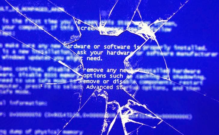 Microsoft diz para desinstalar updates de agosto. Blue-Screens-of-Death