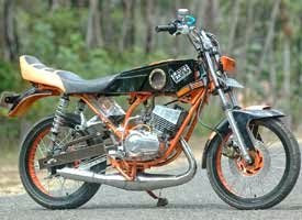 modifikasi motor rx king 1997 terkeren