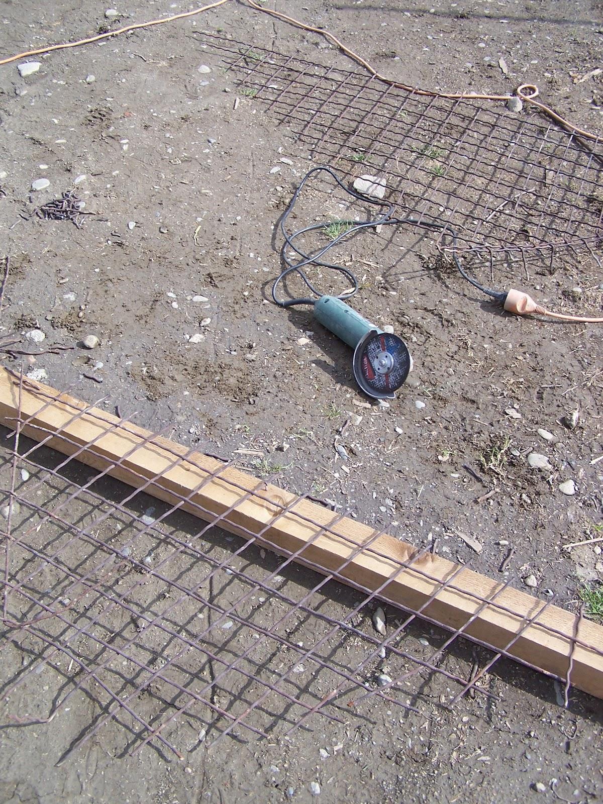 La petite maison du fond avril 2012 - Temps de sechage beton ...