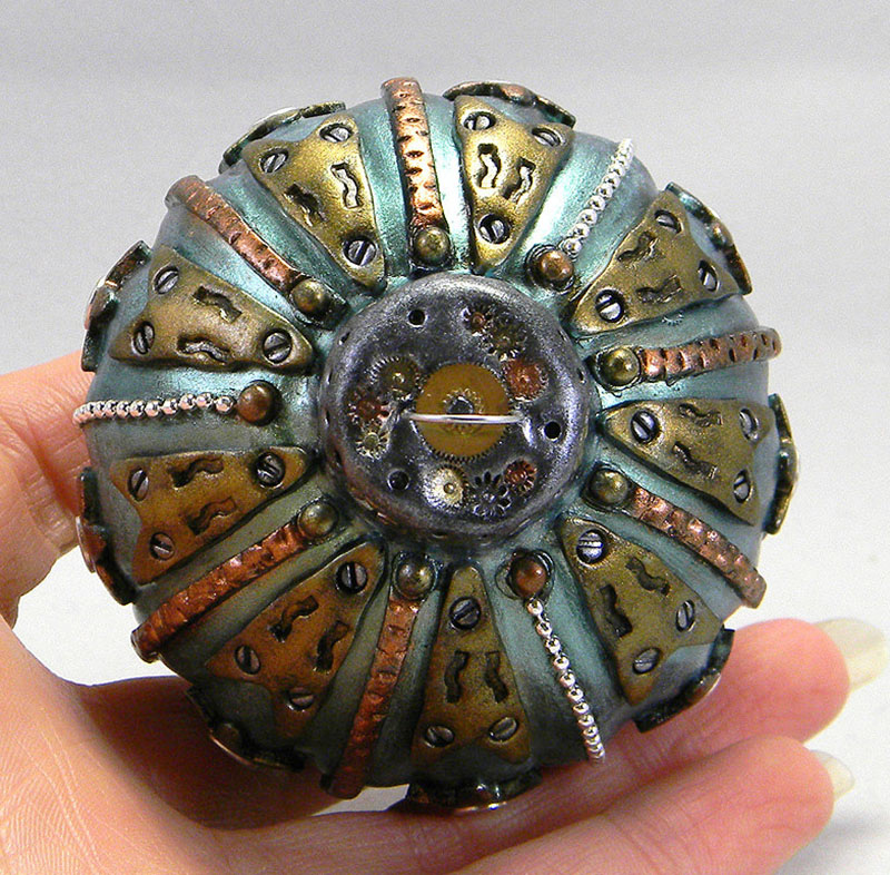 Steampunk Christmas Ornaments, Handmade and One of A Kind