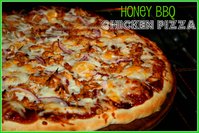 honey chicken pizza