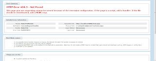 HTTP Error 404.3 - Not Found