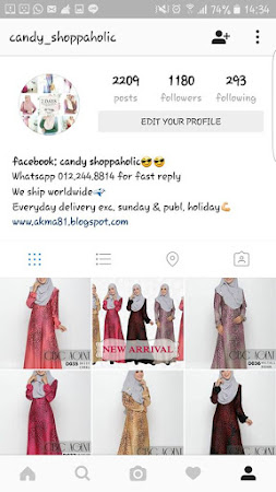 Jom Follow Kami Di Instagram!! Insta: Candy Shoppaholic