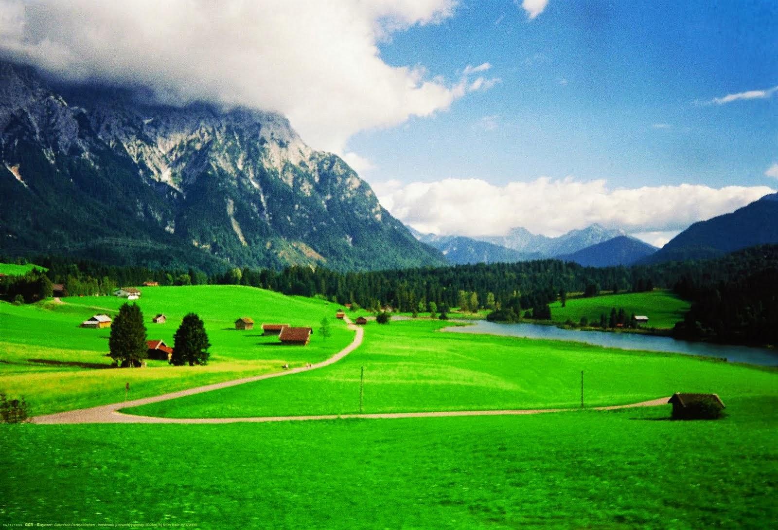 قرية قارمش الجبلية في المانيا