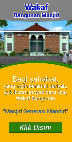 Wakaf Bangunan Masjid
