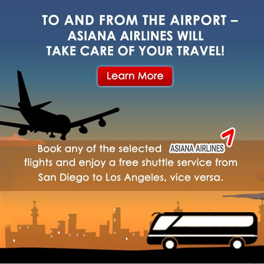 Asiana Airlines Free Shuttle Bus Service