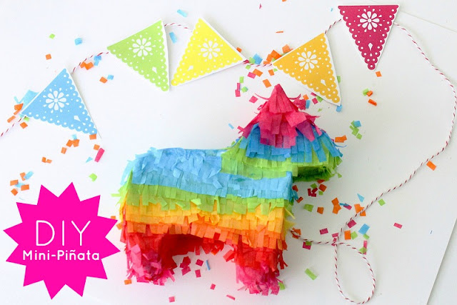 Mini Piñata Tutorial on Campfire Chic