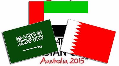 3 Negara Pastikan Diri Lolos Piala Asia 2015