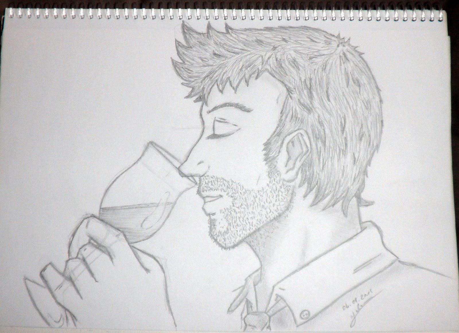 Un portrait de profil pour un tournoi de dessin chez - Dessin de profil ...