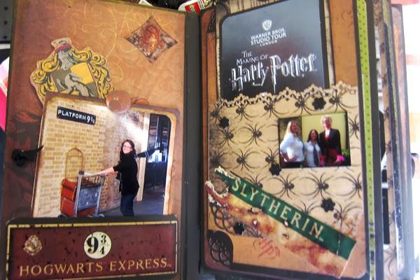 Jubilee Crafts Harry Potter Paper Scrapbook Mini Book