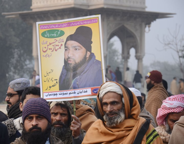 Sardar Mushtaq Gill,HRD Lawyer,was threatened on Mumtaz Qadri's hanging day