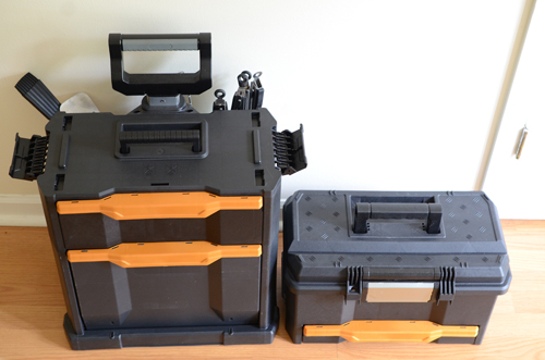 Grilling tool box, grilling gear box