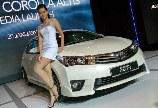 Toyota Toyota Corolla Altis Baru Tahun 2015, Semarang