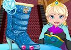 Frozen Elsa Shoes Design