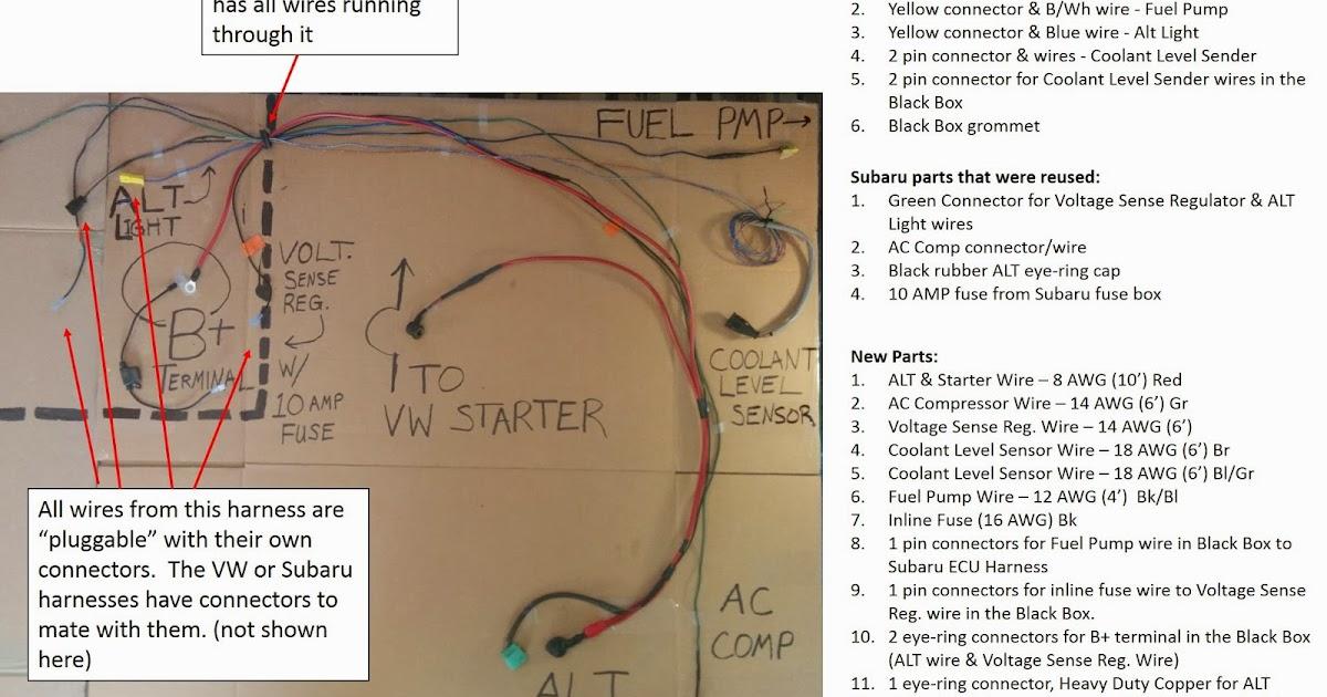 vanagon wiring harness vanagon image wiring diagram love n it out west falia alternator wiring harness on vanagon wiring harness