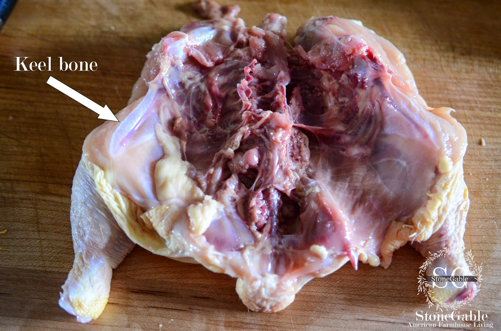 how to cut pulley bone chicken