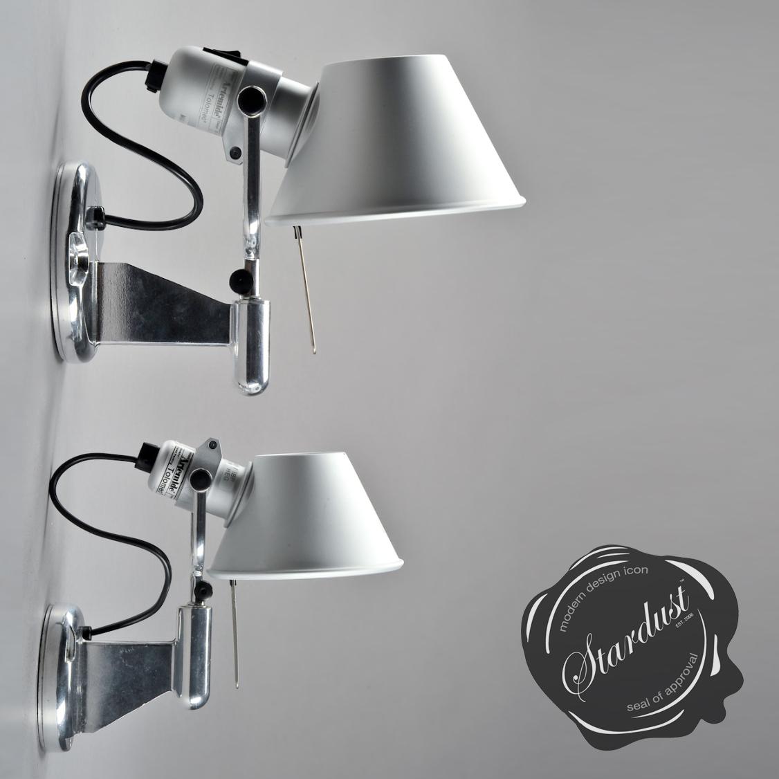 modern interior design tolomeo wall lamp by artemide wall. Black Bedroom Furniture Sets. Home Design Ideas