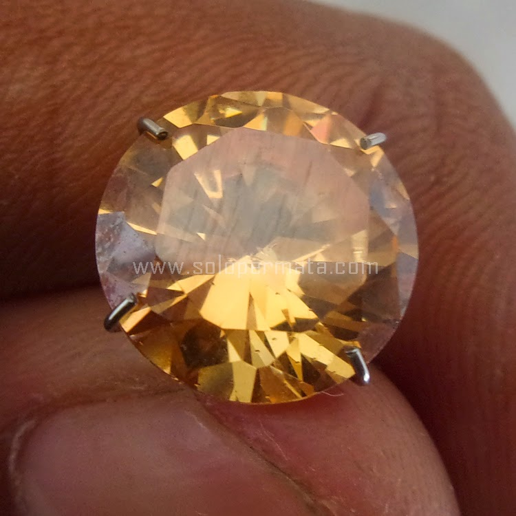 Batu Permata Yellow Citrine - SP508