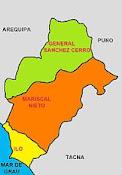 MOQUEGUA 82% CONCESIONADO A MINERAS
