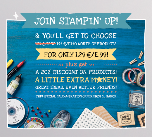 Join Stampin' Up! here