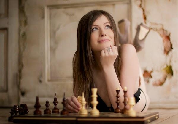 La jolie Russe Natalia Pogonina rêve d'un titre mondial aux échecs sur ses terres à Sotchi © Photo Pogonina