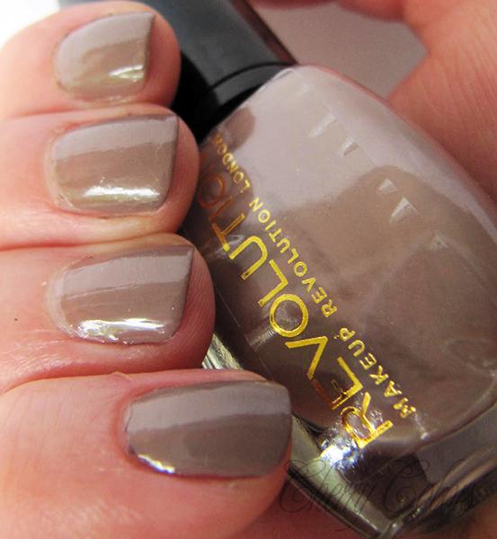 NOTD: Chocolate revolution - Cherry Colors - Cosmetics Heaven!