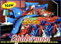Harga Bedcover Set Fata Signature New Spiderman Jual