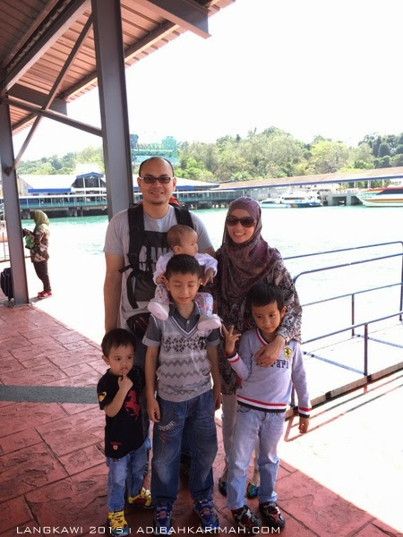short vacation trip to Langkawi - family photo
