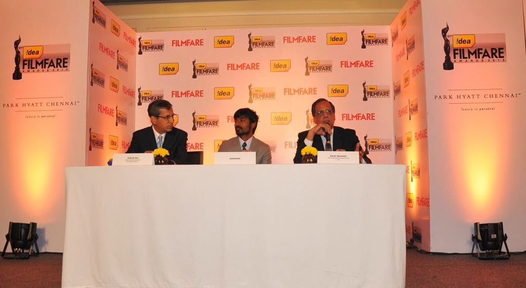 Dhanush at Idea film fare awards-HQ-Photo-5