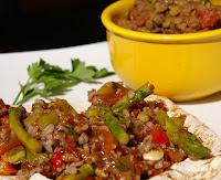 Salada de Arroz com Abobrinha e Aspargos (vegana)
