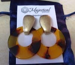 Majestical Jewelry Tortoise Shell Earrings Review