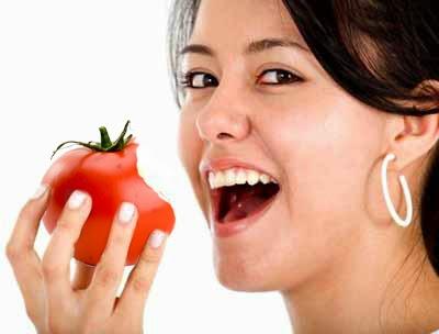 Makan Sayur dan Buah Image