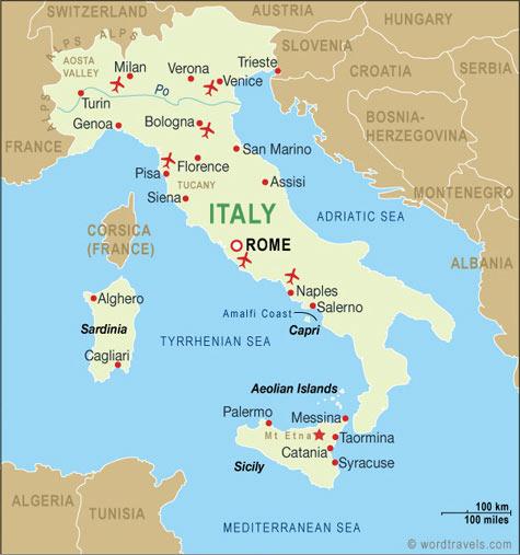 City Map Italy