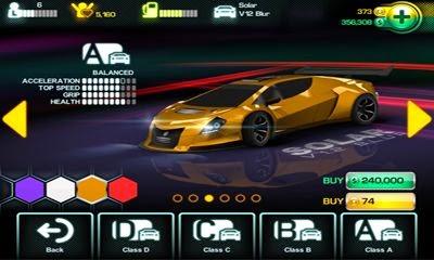 Main Menu Blur Racing