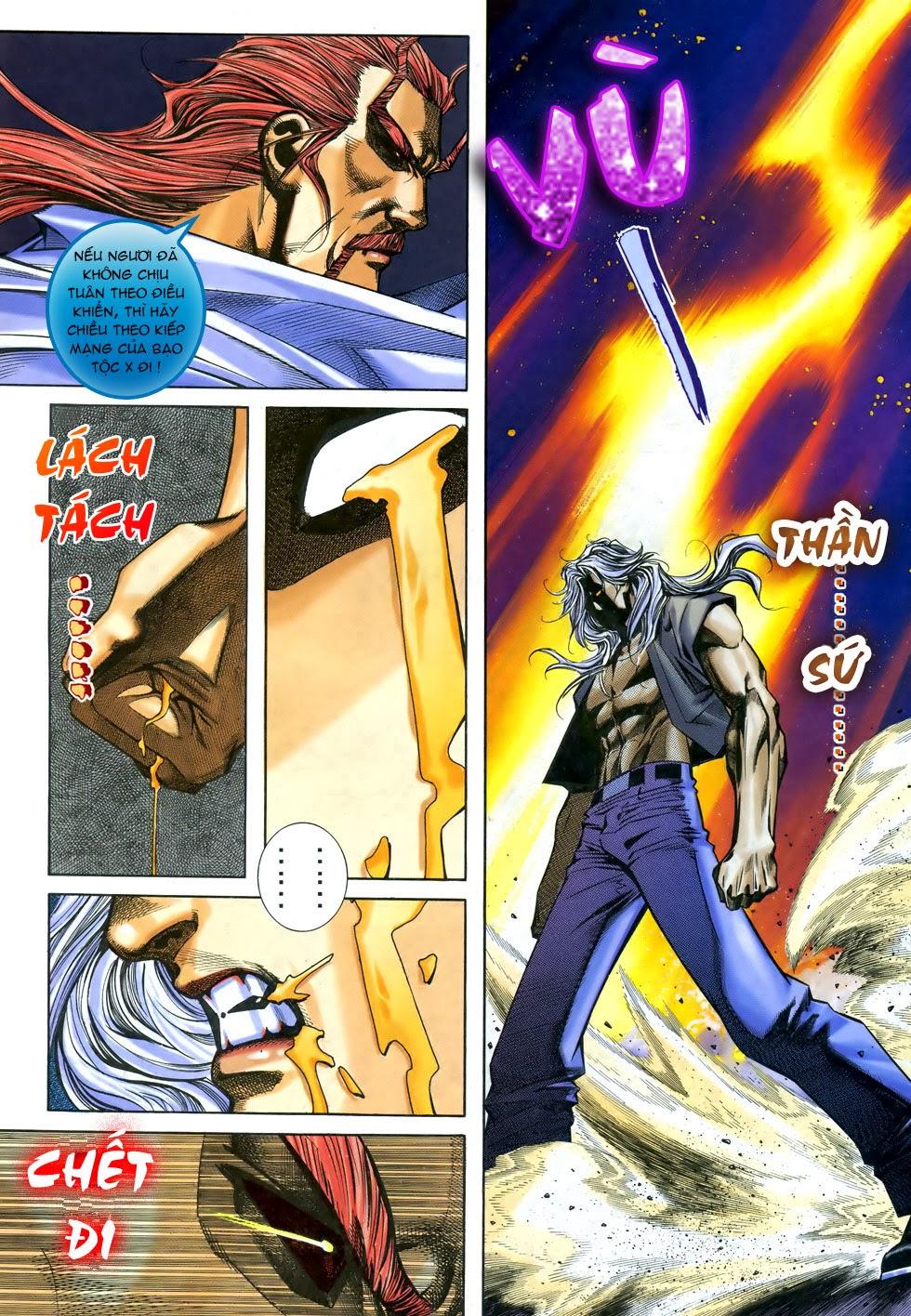 X Bạo Tộc chap 68 - Trang 13