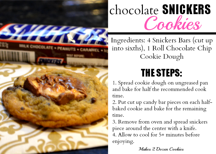 Cookies, Chocolate, Snickers, Candy Bar, Recipe, Dessert
