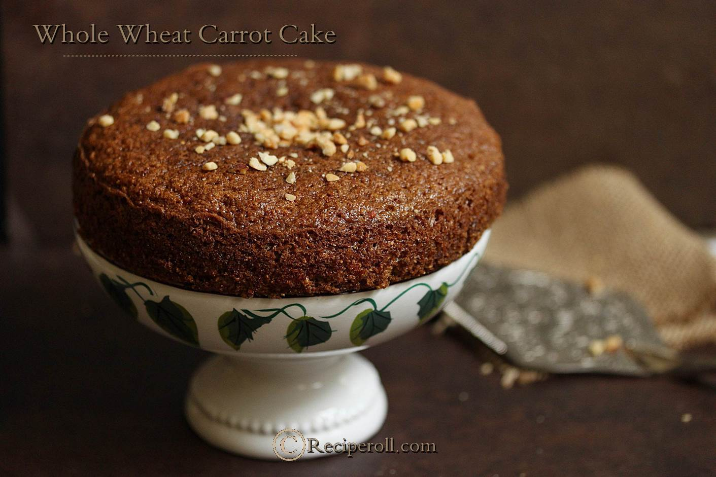 Whole Wheat Carrot Cake ~ Sankeerthanam (Reciperoll.com)|Recipes ...
