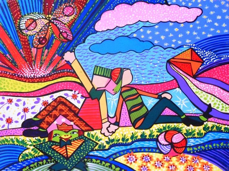 Cuadros modernos pinturas y dibujos cuadros infantiles - Pinturas habitaciones infantiles ...
