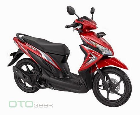 Honda New Vario 110 Fi Merah