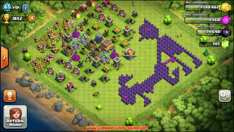 Funny clash of clans base layout new style for 2016 2017