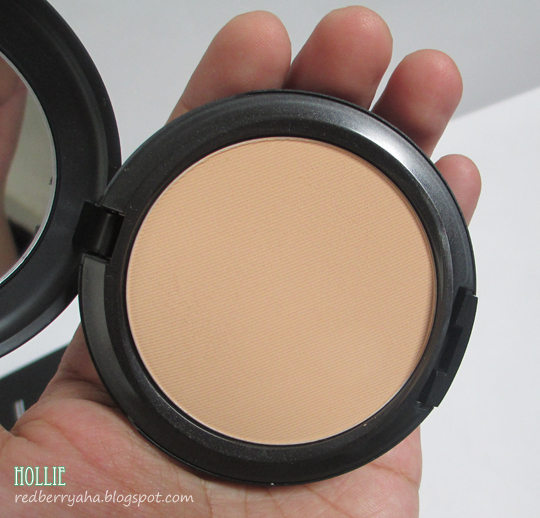 random beauty by hollie mac studio fix powder plus foundation in nc35