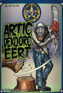 Dark Horse Arctic Dekoorc Eert Label Design