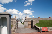 Entrance Historic Fort York Toronto