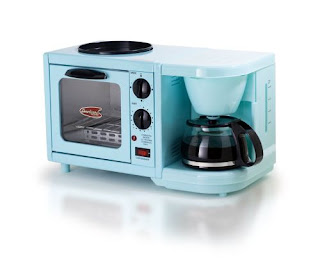 Toaster and coffeemaker in one